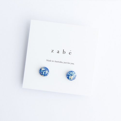 Blue Bayou Stud Earrings