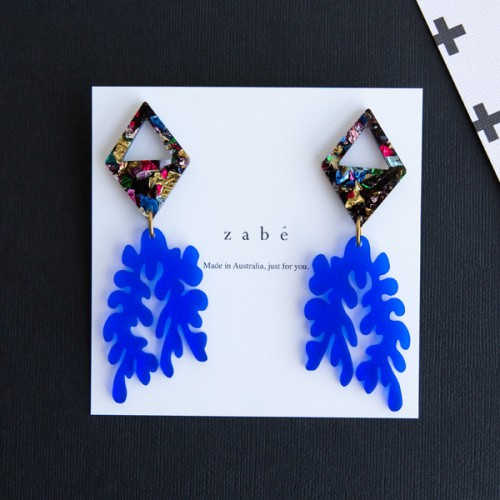 Bluebird Dangle Earrings