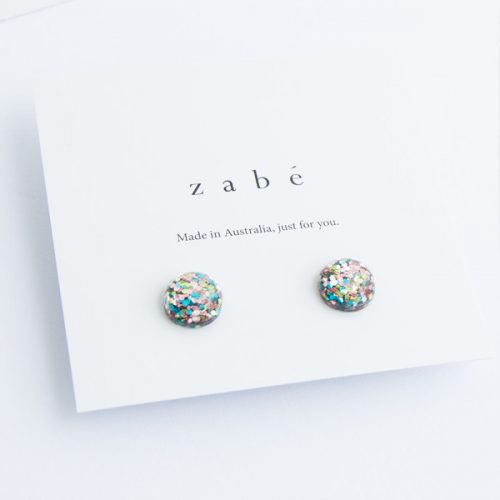 Glitterati Stud Earrings