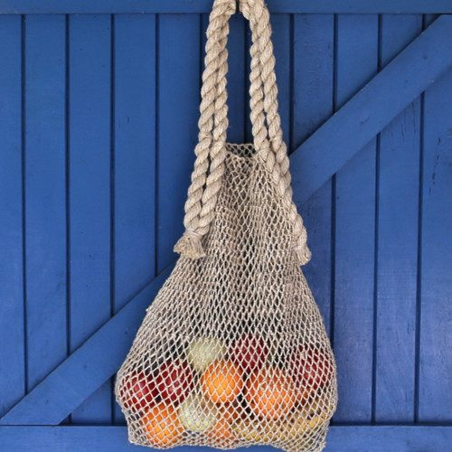 natural hemp string bag